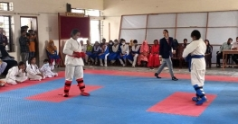 সালথায় কারাতে প্রশিক্ষণ ও প্রতিযোগিতা অনুষ্ঠিত