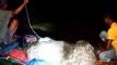 ফরিদপুরে পদ্মায় কৌশলে চলছে ইলিশ শিকার