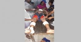 বোয়ালমারীতে তুচ্ছ ঘটনায় ইউপি সদস্যকে কুপিয়ে জখম