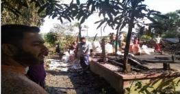 বোয়ালমারীতে অগ্নিকাণ্ডে ১০ লাখ টাকার মালামাল ভস্মীভূত