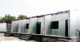 বালিয়াকান্দিতে সরকারী প্রকল্পের ঘরের চাল ঝড়েউড়ে গেছে