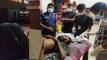 ফরিদপুরে বাঁশ বাগানে পড়ে থাকা মুমুর্ষ রোগীকে হাসপাতালে নিল পুলিশ
