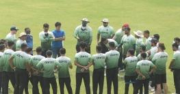 শ্রীলঙ্কার পথে বাংলাদেশ ক্রিকেট দল