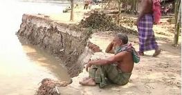 ফরিদপুরে মধুমতি নদীর ভাঙ্গনে দিশেহারা হাজারো পরিবার
