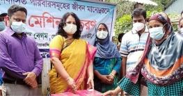 সরকারি উদ্যোগে দুঃস্থদের কর্মসংস্থান করছে রাজবাড়ী জেলা প্রশাসন