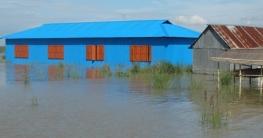 পদ্মার পানি বৃদ্ধিতে ফরিদপুরে ৫৮ স্কুল প্লাবিত