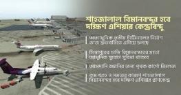 শাহজালাল বিমানবন্দর হবে দক্ষিণ এশিয়ার কেন্দ্রবিন্দু