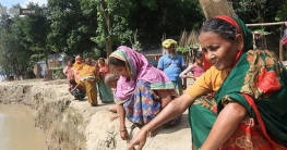 মধুমতি নদীতে বিলীন মহম্মদপুরের শতাধিক বাড়িঘর